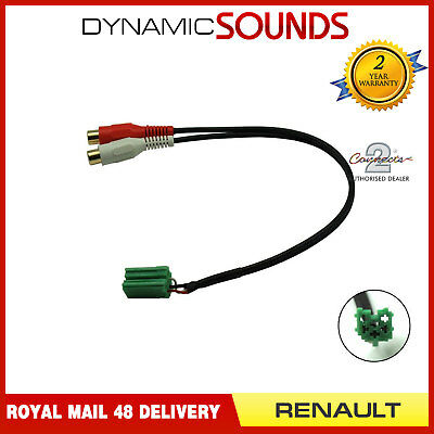 CT29RN01 Autoradio MP3 Ipod IPHONE Auxin Interface Câble pour Renault All Models