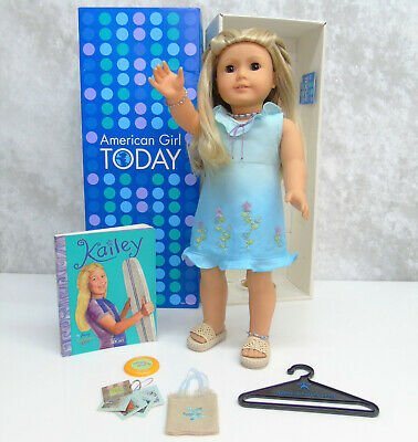 American Girl Pleasant Company DOLL KAILEY + Meet Outfit Accessories Jewelry BOX