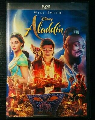 Aladdin Live Action Will Smith Movie (DVD, 2019) BRAND NEW - FREE SHIPPING!!!