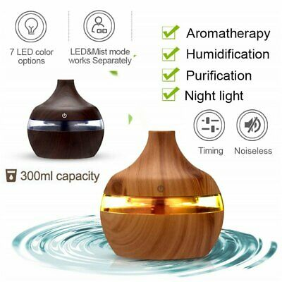 7 Colors Relax Defuser Ultrasonic Air Humidifier Aroma Diffuser Purifier Lights