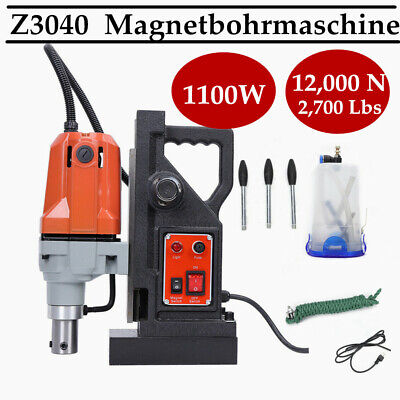 Electric Magnetic Drill Press 50mm Boring 12000N Force Z3040 Magnetic Drill new