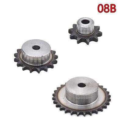 08B 9T-40T Sprocket Wheel with Step A3 Steel Roller Chain Sprocket Pitch=12.7mm