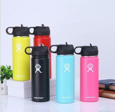 Hydro Flask Stainless Steel Water Bottle  Wide Mouth With Leak Proof Flex Cap