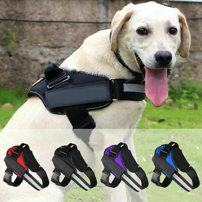 Durable Dog Puppy Vest Harness Strong Outdoor Adjustable&Reflective XS/S/M/L/XL