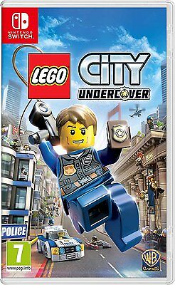 LEGO City Undercover (Nintendo Switch) BRAND NEW & SEALED l FREE POST l