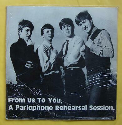 The Beatles From Us To You, A Parlophone Rehearsal Session GREEN/BLACK VINYL!