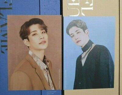 Mj Set Astro Blue Flame The Book / Story Postcard Both Ver Official 2P