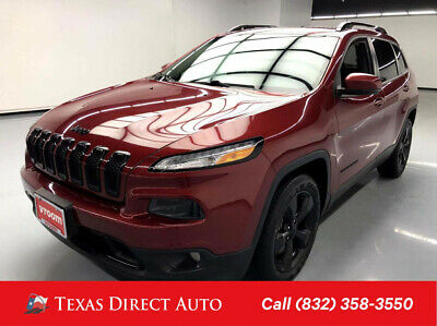 2016 Jeep Cherokee High Altitude Texas Direct Auto 2016 High Altitude Used 3.2L V6 24V Automatic FWD SUV