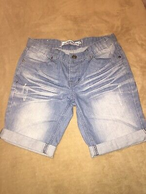 Girls New Look Next Generation Jean Shorts Age 13 Yrs