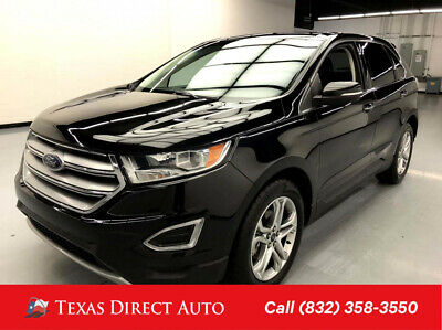 2015 Ford Edge Titanium Texas Direct Auto 2015 Titanium Used Turbo 2L I4 16V Automatic FWD SUV Premium