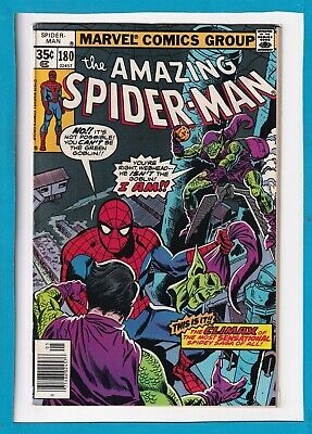 Amazing Spider-Man #180_May 1978_Fine+_Return Of The Green Goblin Finale!