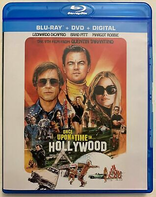 Once Upon A Time In Hollywood(2019) BLU-RAY + Artwork Case Only