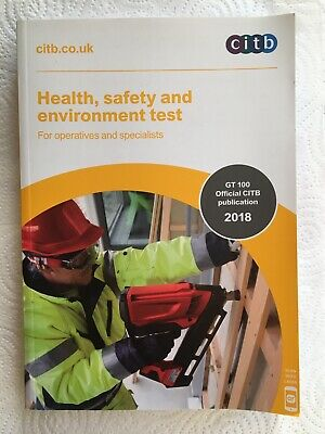 Health, Safety and Environment Test for Operatives and Specialists by CITB...