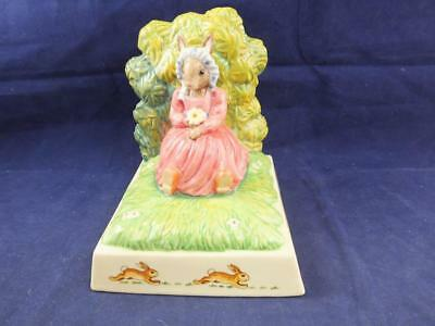Royal Doulton Bunnykins Bookend Figurine Summer Dreams.