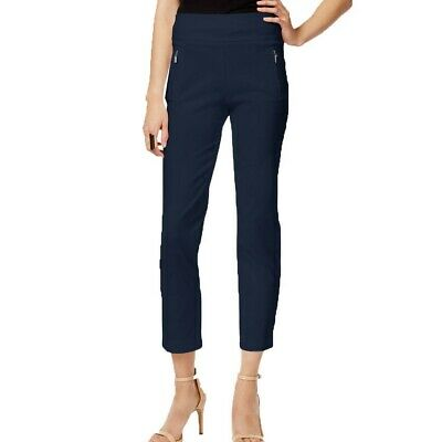 INC NEW Women's Regular Fit Pull On Straight Leg Cropped Pants TEDO