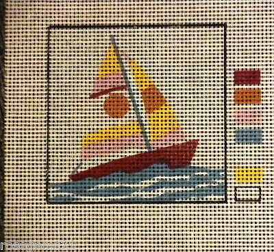 UNSTITCHED TAPESTRY~ Little Boat by CDArt (New) FOR BEGINNER