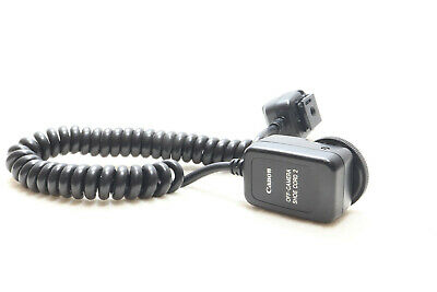 Canon Off Camera Shoe Cord 2 Full TTL Sync Cords -BB 366-