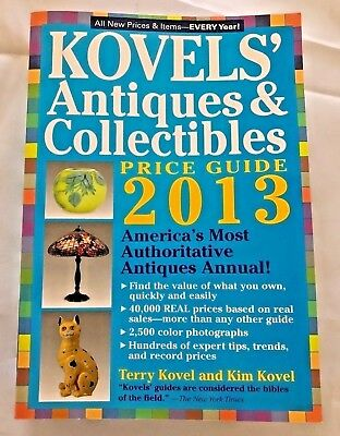 Kovels Antiques & Collectables Pricing Guide 2013