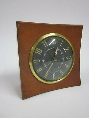 Vintage Seth Thomas Alarm Clock   Electric   Wood Housing   Untested   USA