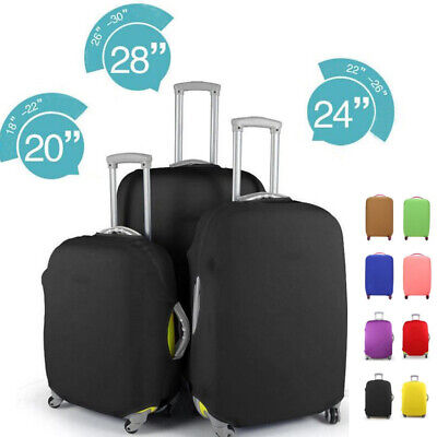 Elastic Luggage Suitcase Dust Cover Protector Anti Scratch Antiscratch S M L