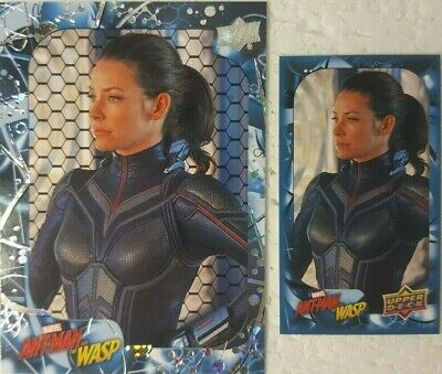 2018 Upper Deck Ant-Man & The Wasp Parallel CARD LOT Honeycomb  + Mini #96 HOPE