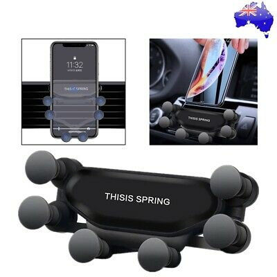 360° Gravity Universal Car Mobile Phone GPS Air Vent Holder Stand Cradle Mount