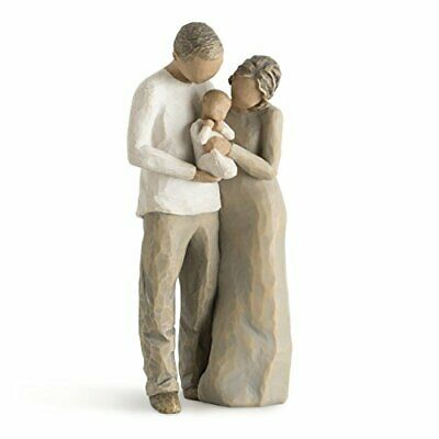 Willow Tree handpainted sulpted figure We are Three 27268