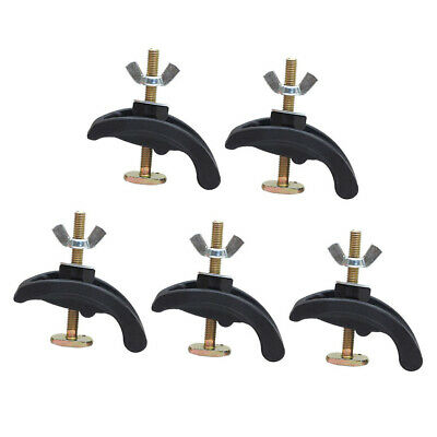 4x Engraving Machine Pressing Plate Clamp Fixture Router T-slot Accessory