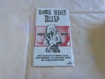 BARB WIRE DOLLS - Rub my mind !!!!PLV / DISPLAY 14 X 25 CM