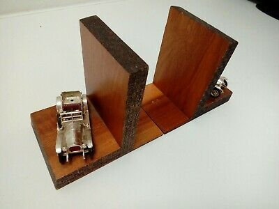 Retro Style Rolls Royce Bookends