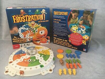 Kids Frustration Board Game With New Slam-O-Matic by Hasbro 2011 Complete VGC 6+