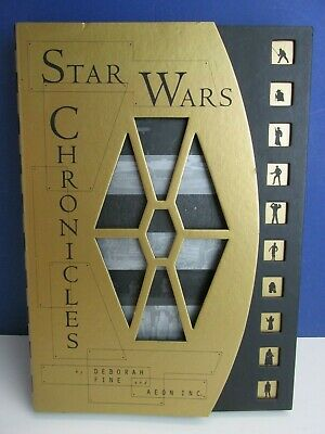 RARE star wars CHRONICLES BOOK deborah fine AEON INC behind scenes ARCHIVES