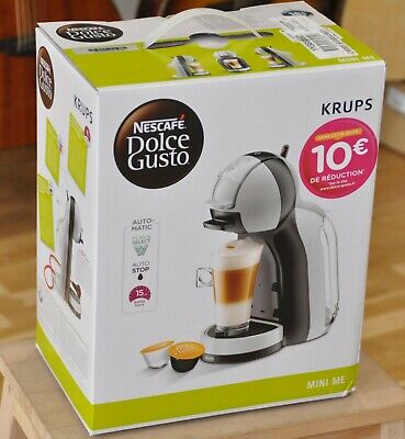 Coffee Machine Krups Nescafe Dolce Gusto Mini Me YY3888FD Automatic Cafe - New