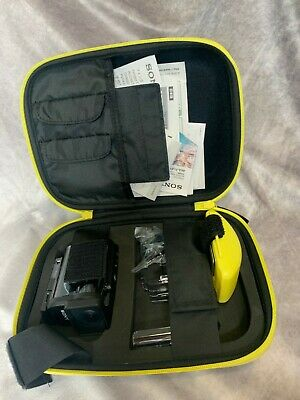 Sony Action/Underwater Camera, With Case, Instructions and Float