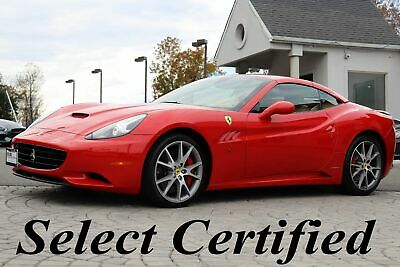 2013 Ferrari California  2013 Ferrari California with ONLY 36K MILES Like New Up to Date Yearly Service
