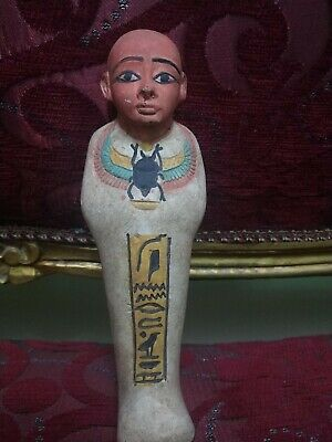 Antique Statue Rare Ancient Egyptian Pharaonic Ptahhotp Ptah God of wisdom 135Bc