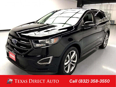2018 Ford Edge Sport Texas Direct Auto 2018 Sport Used Turbo 2.7L V6 24V Automatic AWD SUV Premium