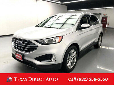 2019 Ford Edge Titanium Texas Direct Auto 2019 Titanium Used Turbo 2L I4 16V Automatic FWD SUV Premium
