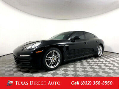 2016 Porsche Panamera  Texas Direct Auto 2016 Used 3.6L V6 24V Automatic RWD Hatchback Premium