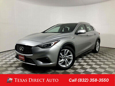 2019 Infiniti QX30 LUXE Texas Direct Auto 2019 LUXE Used Turbo 2L I4 16V Automatic FWD SUV Premium