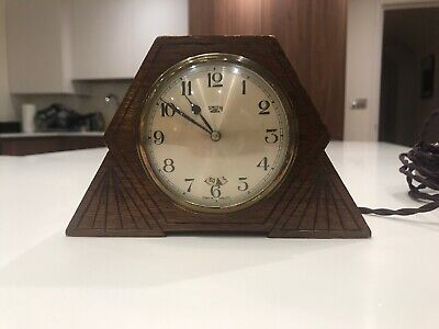 Smiths Sectric Art Deco Clock