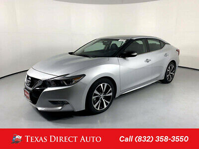 2018 Nissan Maxima SV Texas Direct Auto 2018 SV Used 3.5L V6 24V Automatic FWD Sedan Premium