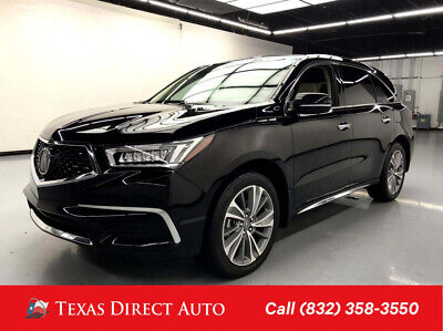 2017 Acura MDX w/Technology Pkg Texas Direct Auto 2017 w/Technology Pkg Used 3.5L V6 24V Automatic AWD SUV