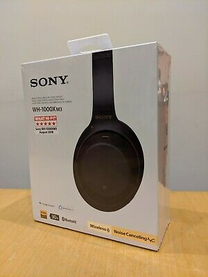 Sony WH1000XM3 Wireless Noise Cancelling Bluetooth Headphones - Black