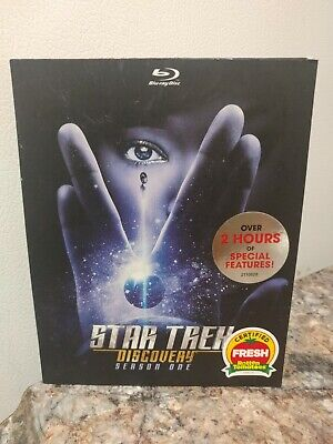 Star Trek Discovery: Season One (Blu-Ray + Slip Cover) FACTORY SEALED