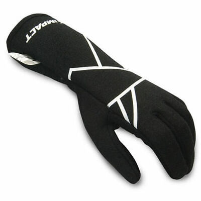 IMPACT RACING Mini Axis Glove Large Black Youth 38500510