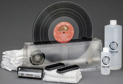 """Spin-Clean Record Washer System MKII-45th Anniversary """"Clear"""" Edition-New"""