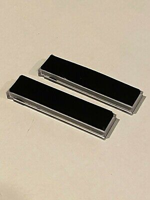 Spin-Clean Record Washer System MKII-Replacement Clear Brushes-New-One Pair