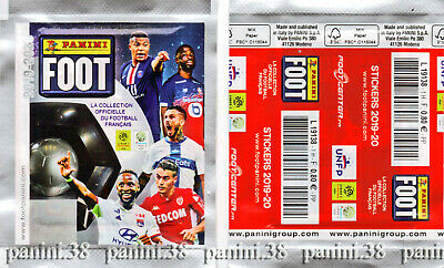 """NEW !!! Pochette """"FRENCH FOOT 2019-2020"""" packet, tüte, bustina PANINI"""