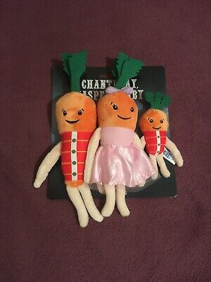 🥕KEVIN THE CARROT OFFICIAL ALDI 2019 - Family Pack  🥕**BRAND NEW**